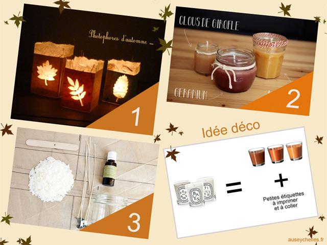 Bougies d'automne DIY - auseychelles.fr