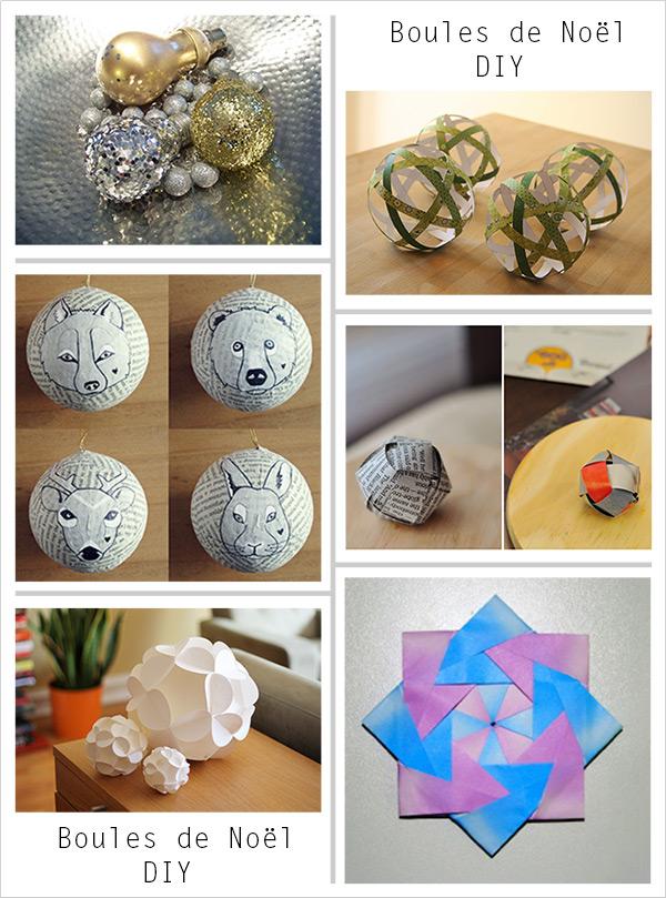 top DIY boules de Noël