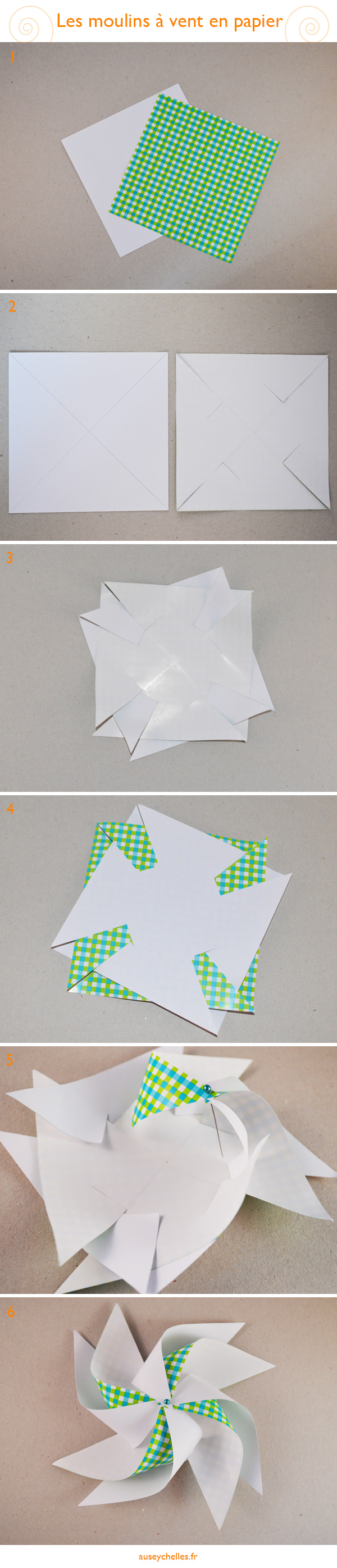 tutoriel moulin à vent en papier