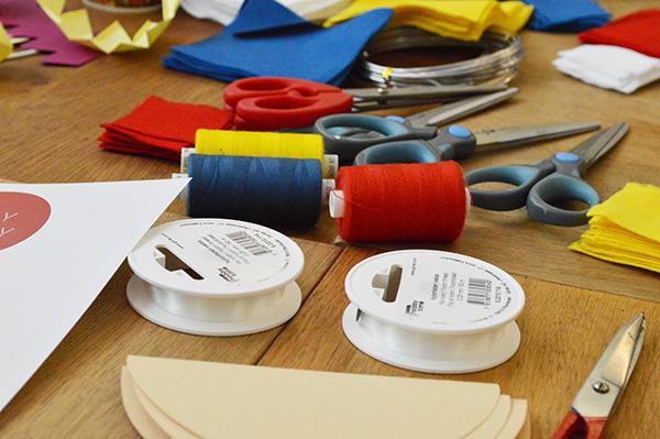 Atelier Petit Bateau materiels