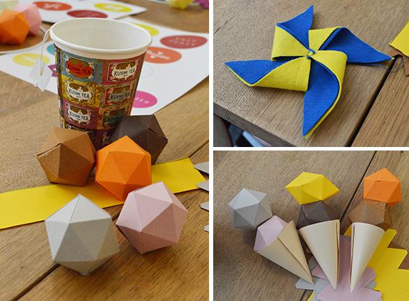 Atelier Petit Bateau origamis