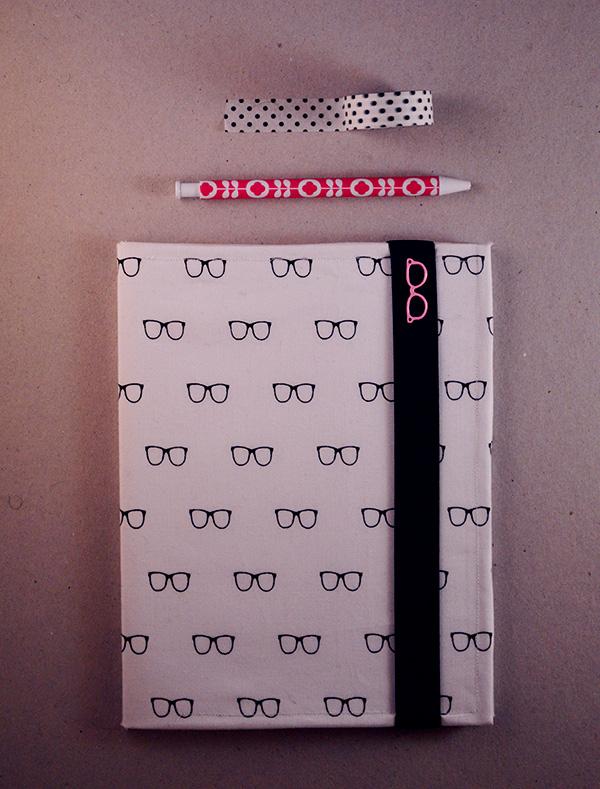 DIY customisation cahier blogueuse