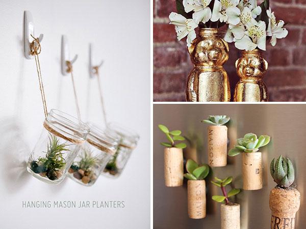 DIY mini plantes
