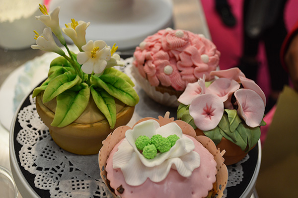 salon sugar Paris cupcakes fleurs