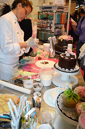 salon sugar Paris demonstration