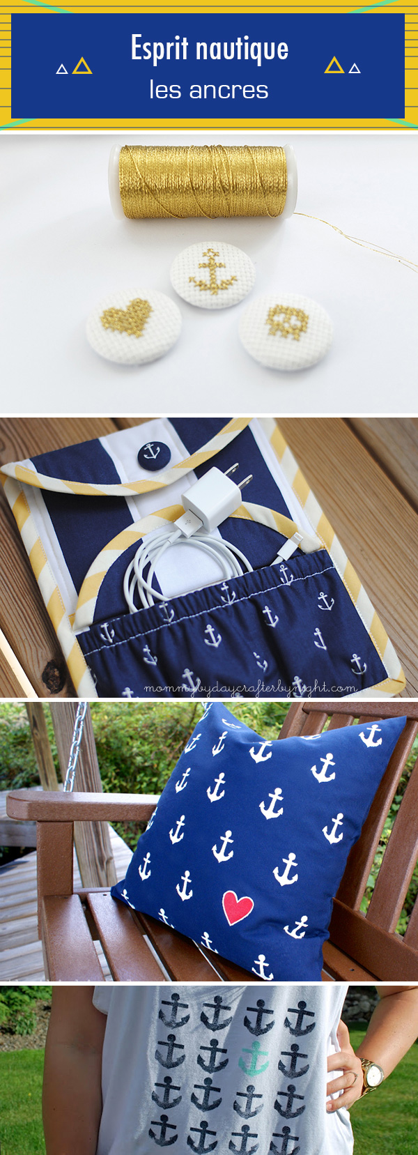 diy inspirations ancre marine