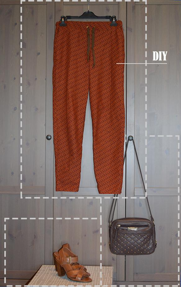 look pantalon Sunny de la maison Victor