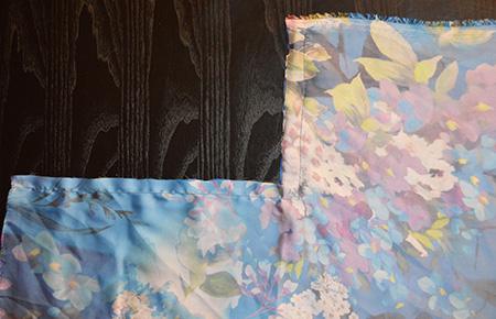 etape 5 veste kimono diy