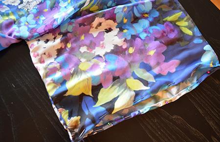 etape 6 veste kimono diy