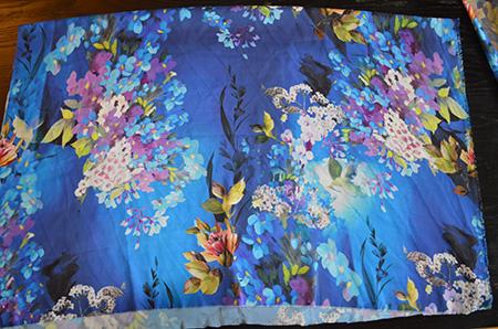 etapes 1 et 2 veste kimono diy