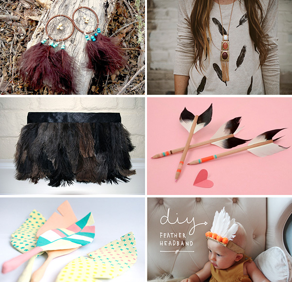 inspirations do-it-yourself plumes