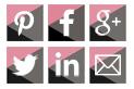 exemples boutons réseaux sociaux
