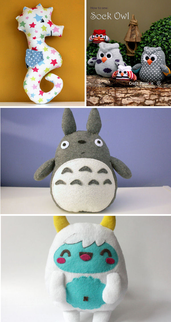 Inspirations peluches DIY