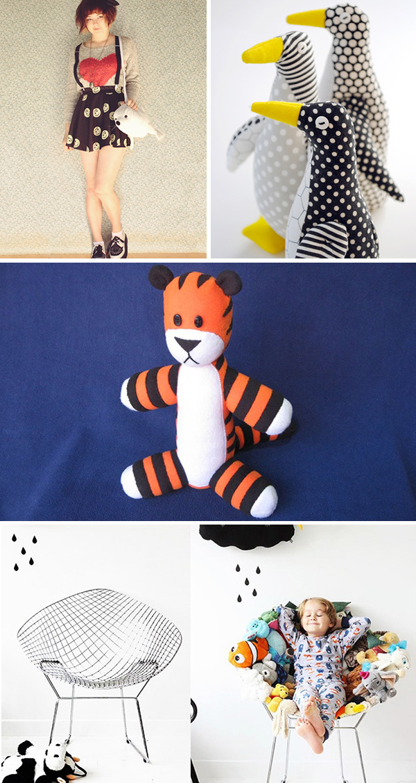 Inspirations peluches DIY 2