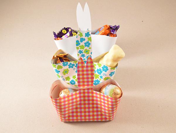 3 paniers lapin de Pâques DIY - auseychelles.fr