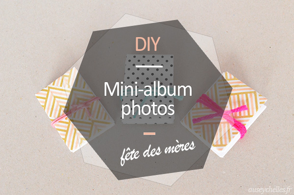 presentation mini-album photos diy