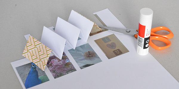 étape 4 tutoriel mini-album photos diy
