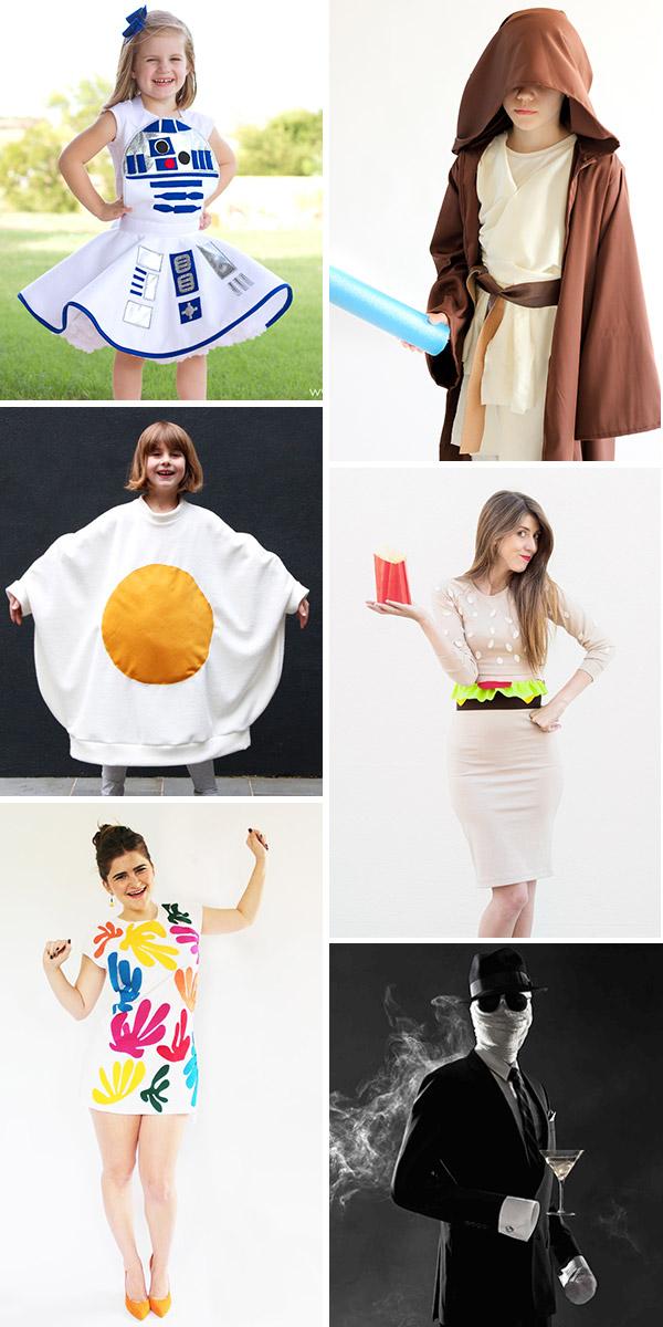 6 idées de costumes DIY pour Halloween