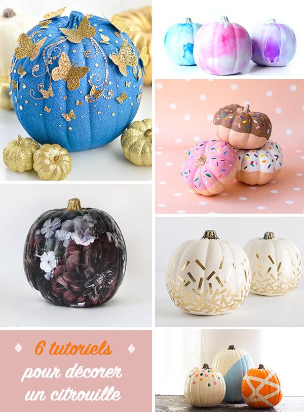 6 inspirations décoration de citrouilles DIY