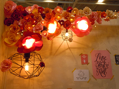 Salon CSF 2015 - allée des inspirations - luminaire