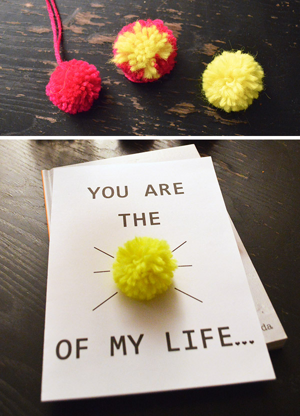 Carte Saint Valentin - You are the sunshine of my life