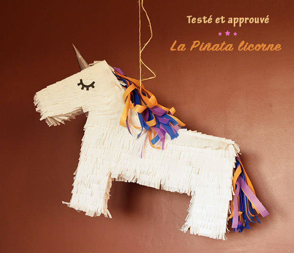 Extrêmement Testé et approuvé : la piñata licorne - Aurélie Seychelles MI93