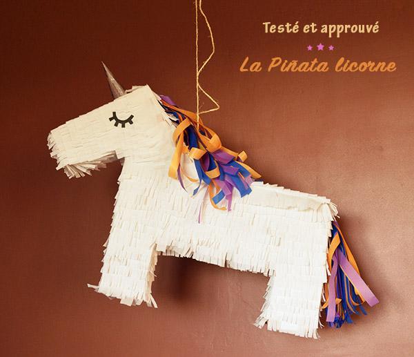 Présentation pinata licorne DIY